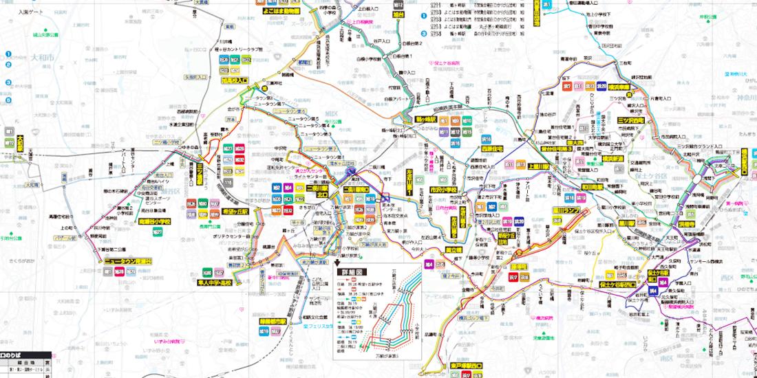 路線図 | バス | 相鉄グループ